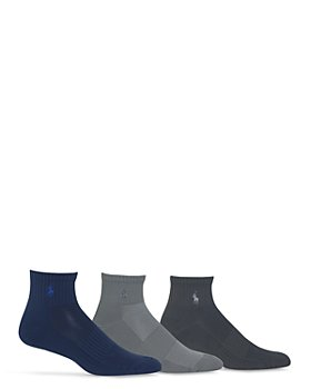 Polo Ralph Lauren - Quarter Sport Socks, Pack of 3