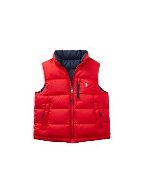 Ralph Lauren Childrenswear Boys Reversible Puffer Vest  Little Kid