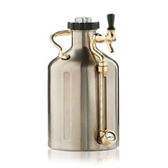 Growlerwerks Silver 128 oz. uKeg - Bloomingdale's_0