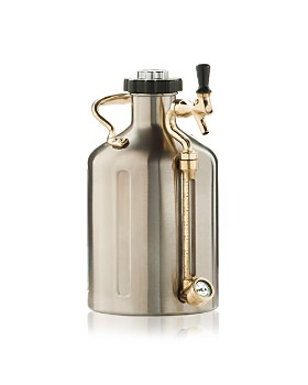 GrowlerWerks - Silver 128 oz. uKeg