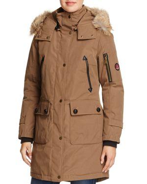 Pendleton Jackson Fur Trim Down Coat