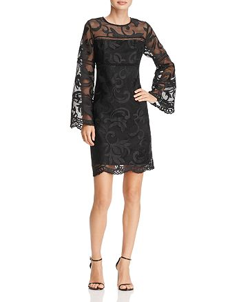 nanette Nanette Lepore - Bell Sleeve Lace Dress