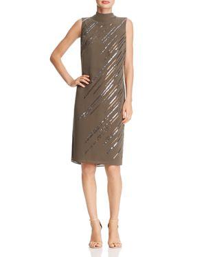 Nic+Zoe Dress Sequin Tie-Back Dress