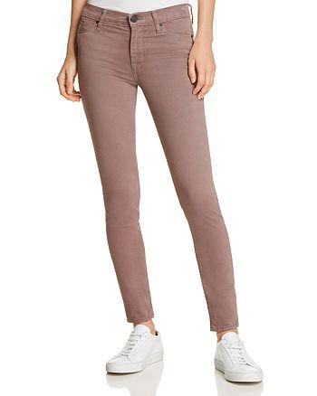 Hudson - Nico Super-Skinny Jeans in Umber