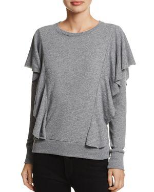 Nation Ltd Senna Ruffled Sweatshirt