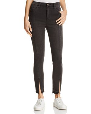 Pistola Monroe Seamed Cropped Skinny Jeans in Undercover