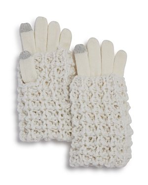Rebecca Minkoff Hand Cable Knit Tech Gloves