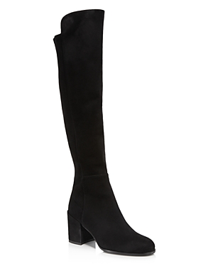 Stuart Weitzman Women's Alljack Suede Over-the-Knee Boots