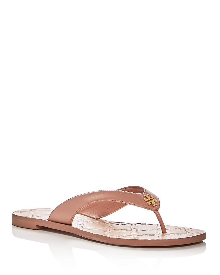 8f8cf691ffdb11 Tory Burch - Women s Leather Monroe Thong Sandals
