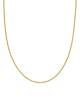 "Bloomingdale's - 14K Yellow Gold Adjustable Semi Solid Chain, 22"" - 100% Exclusive"