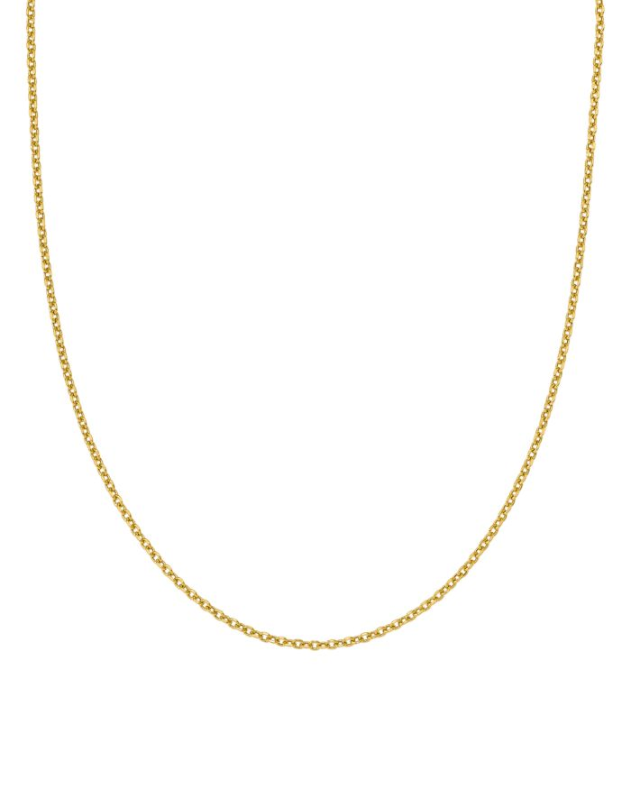 """Bloomingdale's 14K Yellow Gold Adjustable Semi Solid Chain, 22"""" - 100% Exclusive  