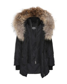Mackage Girls' Fur-Trimmed Coat - Big Kid - Bloomingdale's_0
