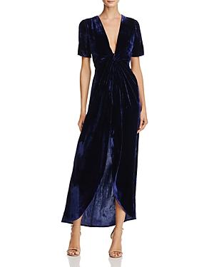 Joa Velvet Faux Wrap Dress - 100% Exclusive