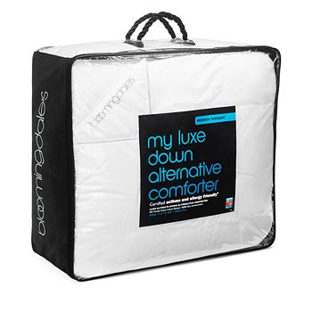 Bloomingdale's - My Luxe Down Alternative Asthma & Allergy Friendly Medium Comforter, King - 100% Exclusive