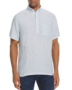 Onia Josh Short Sleeve Popover Shirt - Bloomingdale's_0