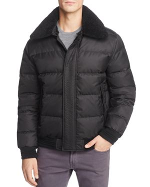 Andrew Marc Pinnacle Puffer Bomber Jacket