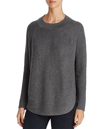 H. ONE - Round-Hem Sweater