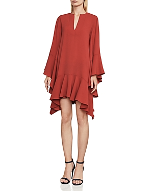 Bcbgmaxazria Tegan Ruffle Dress
