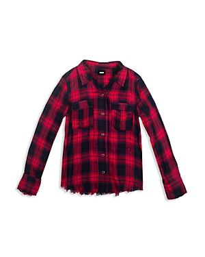 Girls Hudson Kids Erin Plaid Shirt
