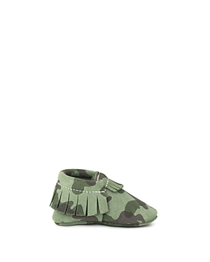 Freshly Picked Boys Camo Moccasins  Baby