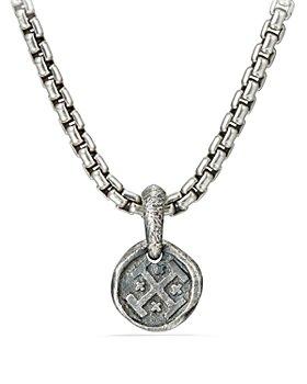 David Yurman - Shipwreck Coin Amulet