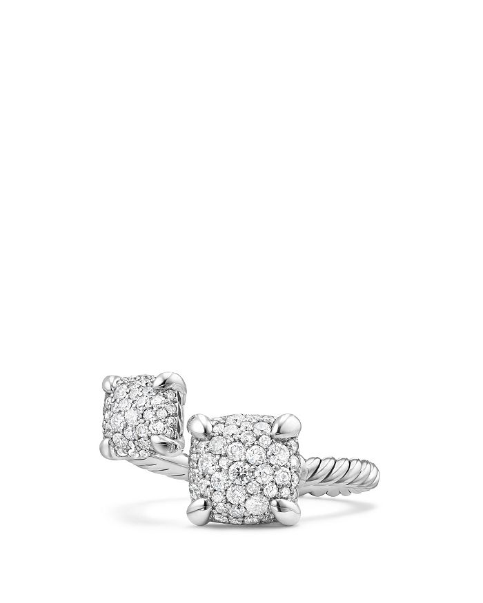 David Yurman - Chatelaine Bypass Ring with Diamonds
