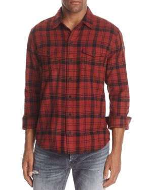 Paige Everett Plaid Button-Down Shirt