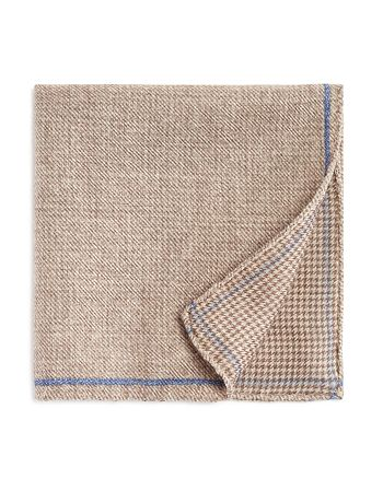 The Men's Store at Bloomingdale's - Solid Bordered Wool Pocket Square - 100% Exclusive