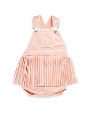d70566e0bc1b8 Bardot Junior Girls' Velvet Pleated Overalls - Baby