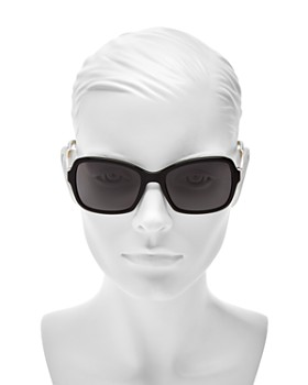 kate spade new york - Women's Annjanette Polarized Square Sunglasses, 54mm
