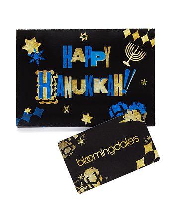 Bloomingdale's - Happy Hanukkah Gift Card
