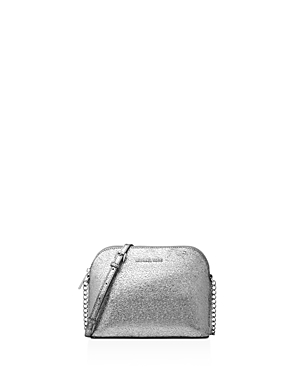 Michael Michael Kors Dome Metallic Large Leather Crossbody - 100% Exclusive