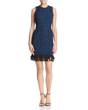 Adelyn Rae Olivia Boucle Sheath Dress
