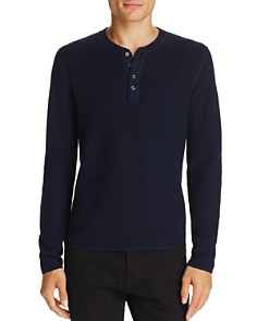 Original Penguin Long Sleeve Waffle Henley - 100% Exclusive - Bloomingdale's_0