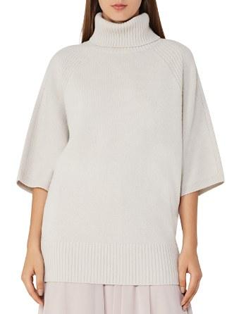 $REISS Alex Oversize Turtleneck Sweater - Bloomingdale's