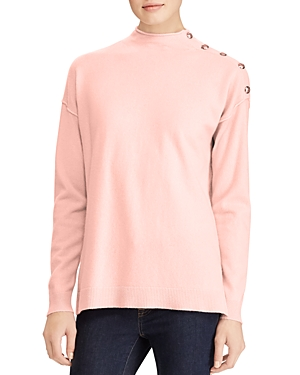 Lauren Ralph Lauren Cashmere Mock Neck Sweater - 100% Exclusive