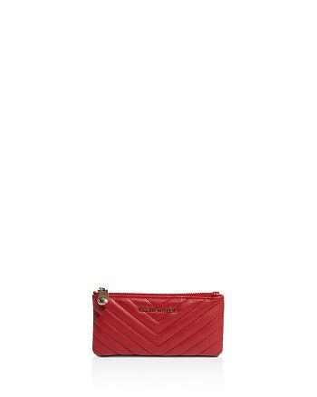 KAREN MILLEN - Quilted Leather Wallet