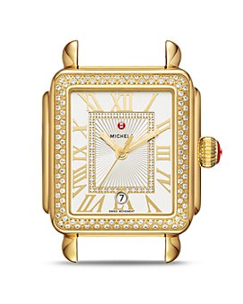 MICHELE - Deco Madison Watch Head, 35mm