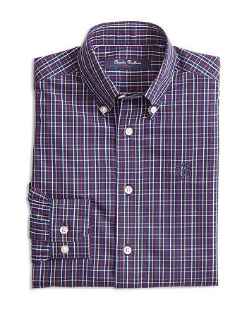 Brooks Brothers - Boys' Non-Iron Check Sport Shirt - Big Kid