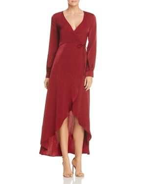 Lost and Wonder Napa Wrap Dress