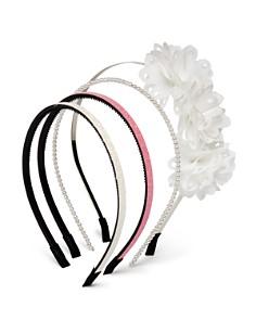 Capelli Girls' Floral & Beaded Headbands, Set of 4 - Bloomingdale's_0