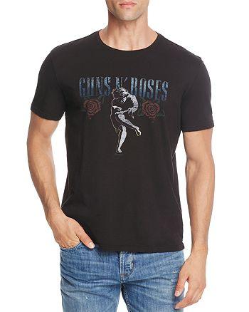 John Varvatos Star USA - Guns N' Roses Graphic Crewneck Short Sleeve Tee