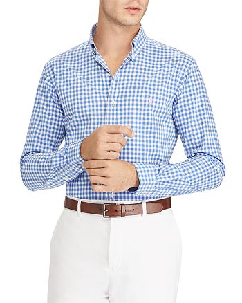 c1a6a8bf3c34 Polo Ralph Lauren - Gingham Classic Fit Button-Down Shirt