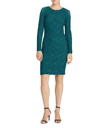 Ralph Lauren - Scalloped Lace Dress