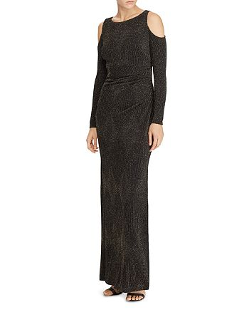 Ralph Lauren - Metallic Jacquard Gown