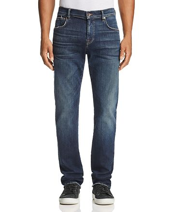 7 For All Mankind - Luxe Sport Straight Fit Jeans in Authentic Reform