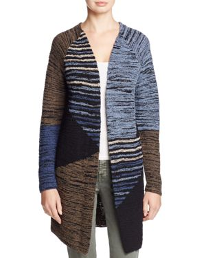 Nic+Zoe Layover Pattern Block Duster Cardigan