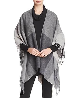 Eileen Fisher Fringed Serape at Bloomingdale's