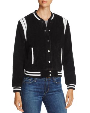 cupcakes and cashmere Cadien Varsity Jacket