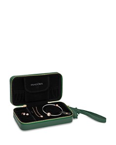 PANDORA Sterling Silver & Cubic Zirconia Radiant Hearts Necklace, Bracelet & Charm Gift Set - Bloomingdale's_0